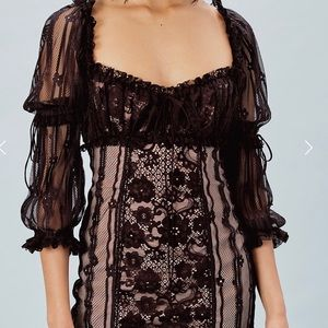 Lace luxe dress, similar to For Love and Lemon